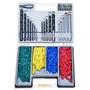Kit Juego 300 Piezas Taladro Brocas Metal Concreto Metal