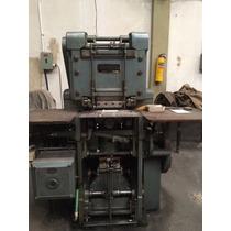 Maquina Litográfica Alto Relieve - Imprenta