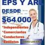 Afiliaciones Eps-arl-caja Compensacion-pension