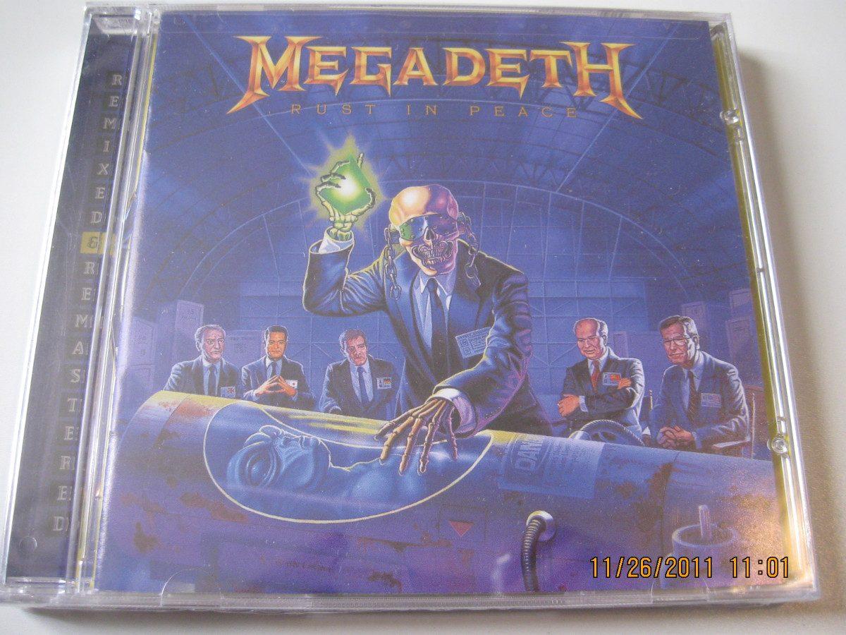 Megadeth Rust In Peace Cd Megadeth Cd Rust In Peace