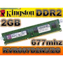 Memoria Ram Kingston 2gb 667mhz Kvr667d2n5/2g Ddr2 Para Pc