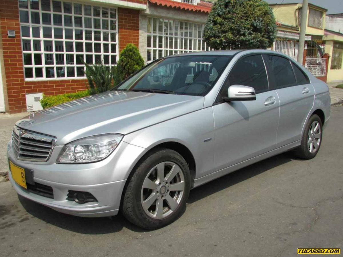 Mercedes benz clase c 180 a o 2010 80000 km tucarro for Mercedes benz colombia
