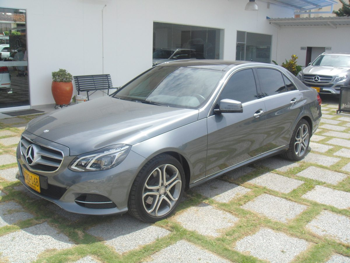 Mercedes benz e200 a o 2016 2900 km colombia for Mercedes benz colombia