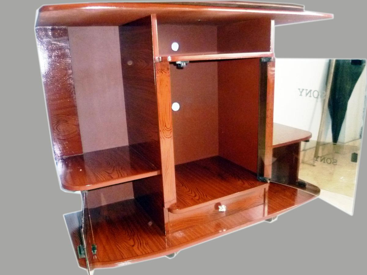 Muebles para tv y sonido madera - Muebles para equipos de musica ...