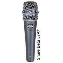 Microfono Profesional Shure Beta57a Original Super Oferta