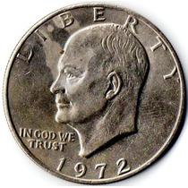 Moneda 1 Dolar 1972 Plata Usa Estados Unidos Oferta