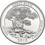 Moneda De Cuarto De Dolar Estados Unidos 2013 Great Basin -