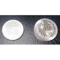 Moneda Antigua 1/2 Franco 1965 Francia - Europa Oferta