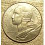 Moneda Francia De 20 Centimos De 1982 Brillante