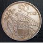 Moneda 50 Pesetas 1957 España Diam 3cm Oferta