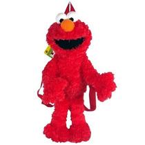 Morral Sesame Street Elmo Muñeca De La Felpa Del Morral Del