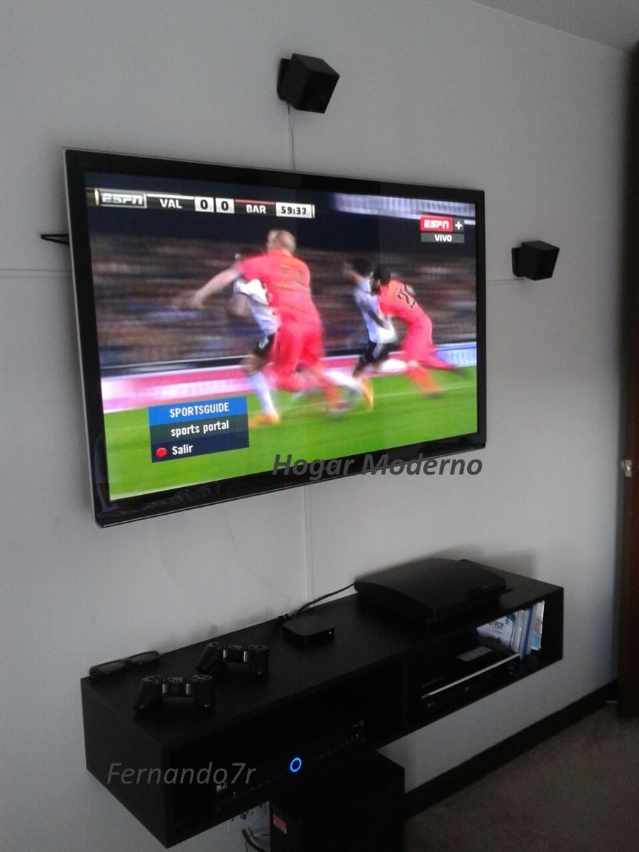 Mueble Para Tv Led Lcd Flotante Minimalista Modular Aereo Bsf 16 000