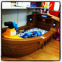 Cama Barco Pirata Para Niños Exclusivo-importado