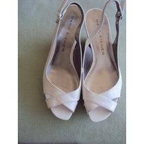 Zapato Sandalia En Cuero-marc Fisher