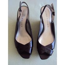 Zapatos Sandalias En Cuero-marc Fisher