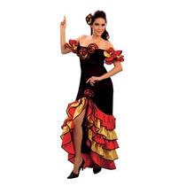 Flamenco Traje - Señoras Rumba Disfraces Español -