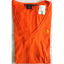 Blusa Polo Ralph Lauren Cuello V 100% Original