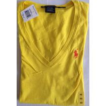Blusa Polo Ralph Lauren Cuello V 100% Original Talla Xs