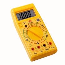 Multimetro Digital Grande Pantalla Lcd Modelo Tm-3900