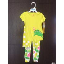 Pijama Carters Niño Talla 4 , 3 Piezas