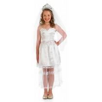 Princess Bride Costume - Estilo Boda Girls M Del Vestido De