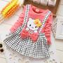 Hermoso Vestido Hello Kitty Ropa Niña Importada