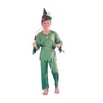 Robin Hood Costume - Hombres Fancy Dress Mediano 7-10 Años