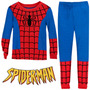 Pijama Niño Spiderman Tipo Disfraz + Obsequio