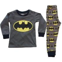 Pijama Niños Batman Tipo Disfraz + Obsequio