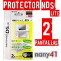 Portector De Pantalla Nintendo Ds Lite No Rayas Nav07