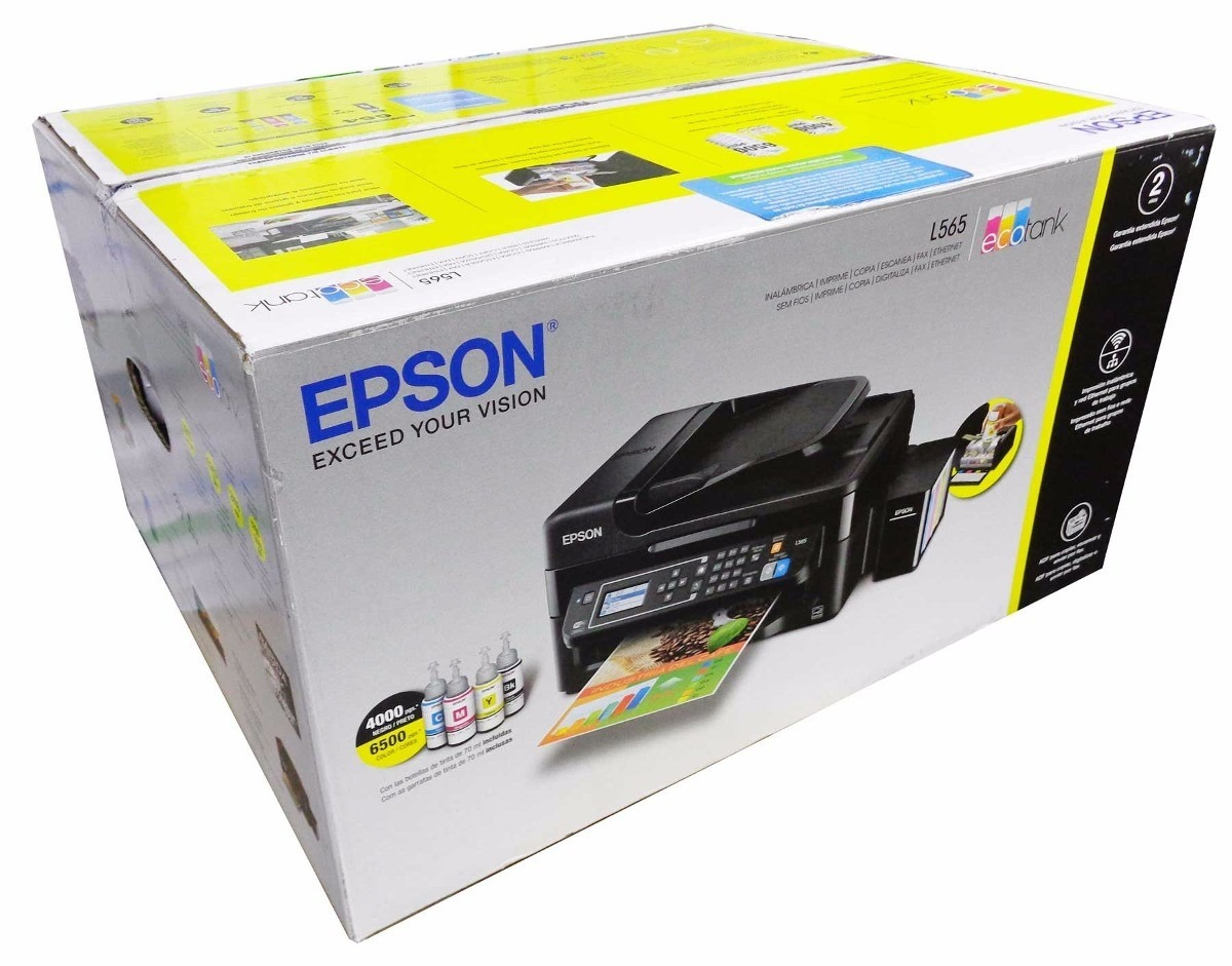 Impresora Epson L575 Multifuncional Tinta Continua Wifi En