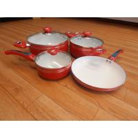 Juego De Ollas Y Sarten En Ceramica 7 ,9 10,12 Piezas