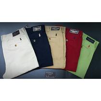 Pantalones Drill Classic Polo Ralph Lauren Hombre.