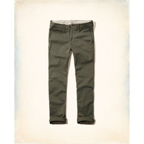 Pantalon Dril Abercrombie, Hollister Talla Original Talla 30