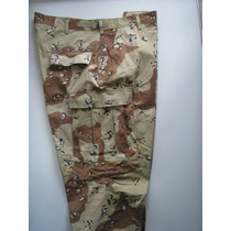 Pantalón Camuflado Us Army Desierto Chocolate Chip T-large