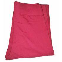 Leggins Pantalones Jeans Unicolor Fucsia Licrado