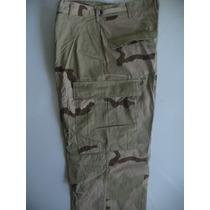 Pantalón Camuflado Militar Us Army Desert-