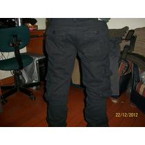 Pantalones Camuflados Cargo J.c. Talla 28 A 36 - Azules