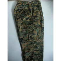 Pantalón Camuflado Militar Us Army Marine Digital