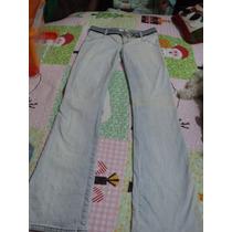 Jean Jlo Desgastado T 6 Original Con Cinturon