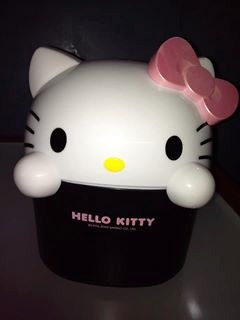Papelera De Hello Kitty Increible.