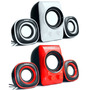 Parlantes Usb 2.1 Con Subwoofer X-kim Sw-250sp, 11 Watts Rms