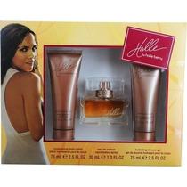 Perfume Halle Berry Halle Set (eau De Parfum Spray Y Loción