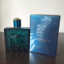 Perfume Locion Eros De Versace Para Hombre 100ml Original