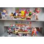 9 Figuras Futboleras De Bugs Bunny Y Otros De 1998 De Zenu