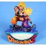 Dragon Ball Z Goku & Gohan Kamehameha Diorama Figuras