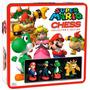 Original Nintendo Ajedrez D Colección Chess Super Mario Bros