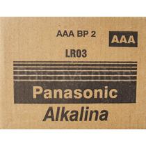 24 Pilas Panasonic Aaa 1.5v Alcalina Larga Duración