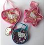 Bolsos En Vinilo Con Accesorios Para El Cabello Hello Kitty