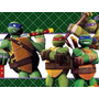 Kit Imprimible Tortugas Ninja Fiesta Cumpleaños Torta Niños